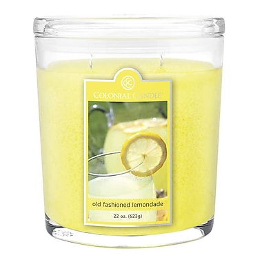 Colonial Candle 22 oz. Jar, Old Fashioned Lemonade, 1/Pack (CC0223559)