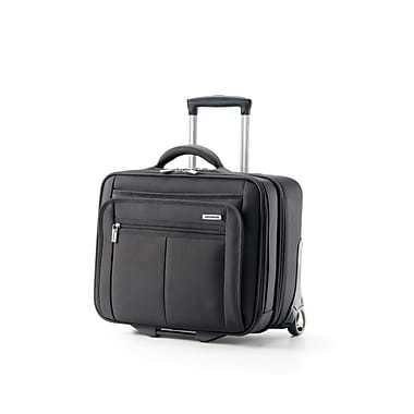Samsonite 76148-1041 Classic 2 2-Wheeled Mobile Office w/RFID, Black