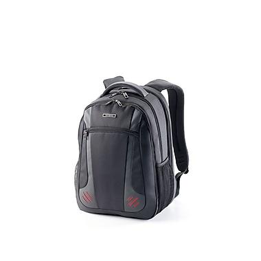 Samsonite – Sac à dos pour ordinateur portatif Pro de 15,6 po Tectonic 2 avec RFID 76747-1073, noir/rouge