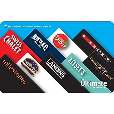 The Ultimate Dining Card $100 Gift Card