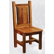Fireside Lodge Artisan Barnwood Solid Wood Dining Chair