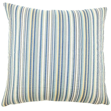 The Pillow Collection Charnell Striped Throw Pillow; 20'' H x 20'' W x 5'' D