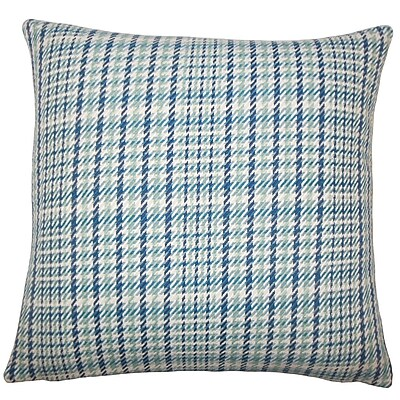 The Pillow Collection Utara Geometric Cotton Throw Pillow; 20'' H x 20'' W x 5'' D