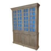 MOTI Furniture Belleview 8 Door Storage Cabinet; Cool