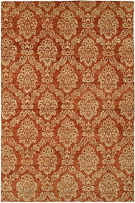 Wildon Home Surrey Hand-Knotted Beige/Red Area Rug; Runner 2'6'' x 10'