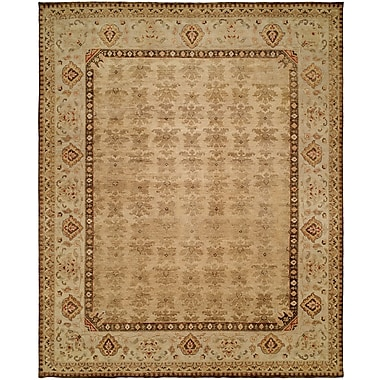 Wildon Home Gangneung Hand-Knotted Tan Area Rug; Runner 2'6'' x 10'