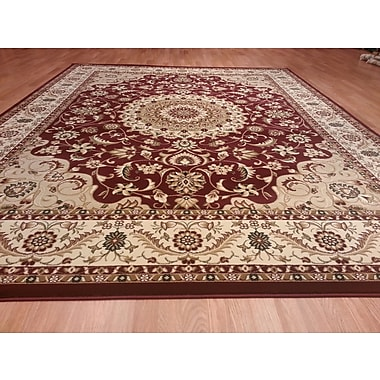 Rug Tycoon Red Area Rug; 10' x 13'