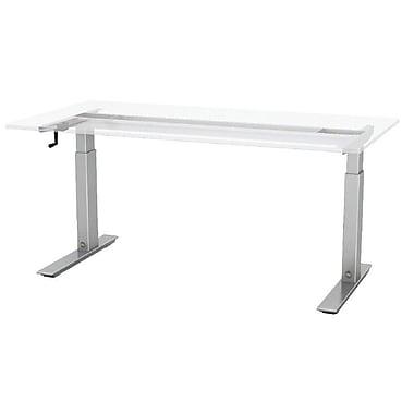 ESI Ergonomic Solutions Q Crank Standing Desk; 45.6'' H x 48'' W x 24'' D
