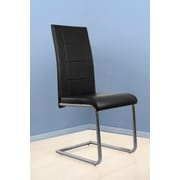 BestMasterFurniture Side Chair (Set of 4); Black