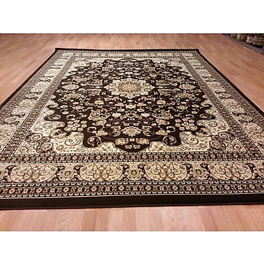 Rug Tycoon Brown/Beige Area Rug; Runner 2'7'' x 9'10''