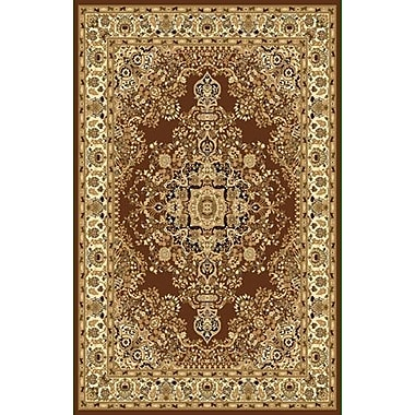 Rug Tycoon Brown Area Rug; Rectangle 7'11'' x 9'10''