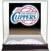 Steiner Sports Logo Background Case; Los Angeles Clippers