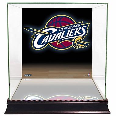 Steiner Sports Logo Background Case; Cleveland Cavaliers