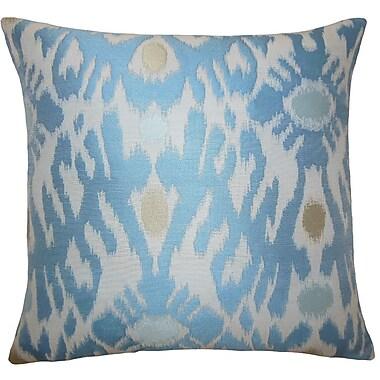 The Pillow Collection Yagmur Ikat Throw Pillow; 18'' H x 18'' W x 5'' D