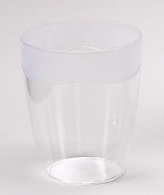 Carnation Home Fashions Acrylic 1.2 Gallon Waste Basket WYF078279026442