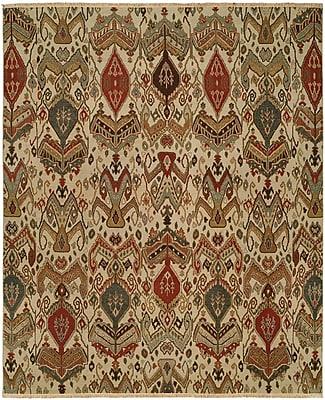 Wildon Home Shuwaikh Hand-Woven Ivory/Red Area Rug; Runner 2'6'' x 12'