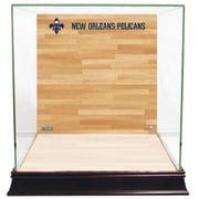 Steiner Sports Basketball Court Background Case; New Orleans Pelicans