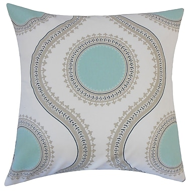 The Pillow Collection Mantreh Graphic Cotton Throw Pillow; 20'' H x 20'' W x 5'' D