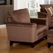 Wildon Home   Opulence Armchair; Brown