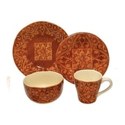 222 Fifth Marrakesh 16 Piece Dinnerware Set