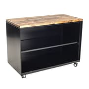 Urban 9-5 Storage Cabinet; Vintage Brown Stained