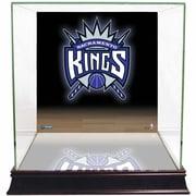 Steiner Sports Logo Background Case; Sacramento Kings
