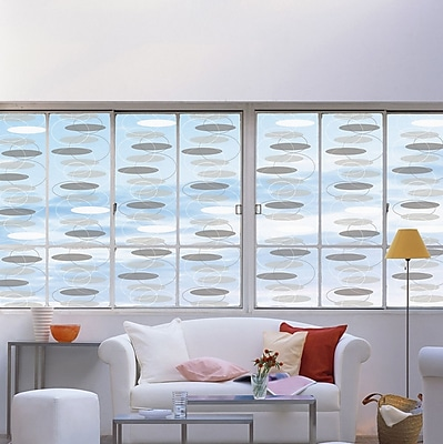 WallPops! DC Fix Geometric Window Film WYF078278847732