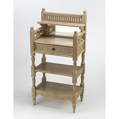 AA Importing 1 Drawer Accent Chest; Pickled
