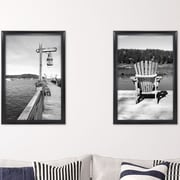 MCSIndustries Premium Wide Scoop Picture Frame (Set of 2); 22'' x 34''