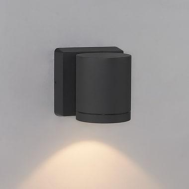 Bruck Cylinder 1-Light Outdoor Sconce