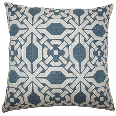 The Pillow Collection Quade Geometric Throw Pillow; 18'' H x 18'' W x 5'' D