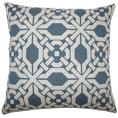 The Pillow Collection Quade Geometric Throw Pillow; 20'' H x 20'' W x 5'' D