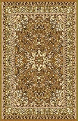 Rug Tycoon Brown/Biege Area Rug; Rectangle 5'3'' x 7'2''