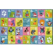 Kev & Cooper Playtime Machine Woven Multi-Colored Indoor/Outdoor Area Rug; 5' x 6'6''