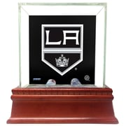 Steiner Sports Glass Single Puck Case; Los Angeles Kings