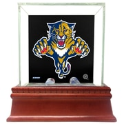 Steiner Sports Glass Single Puck Case; Florida Panthers