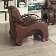 Glory Furniture Saturn Chair Base; Dark Brown