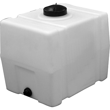 Buyers Products Square Poly Storage Tank; 50 Gallon