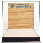 Steiner Sports Basketball Court Background Case; Golden State Warrior