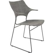 David Francis Furniture Zen Osaka Dining Chair; Rubbed Gray