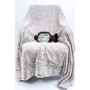 AC Pacific Luxury Cozy Fuzzy Waivy Blanket