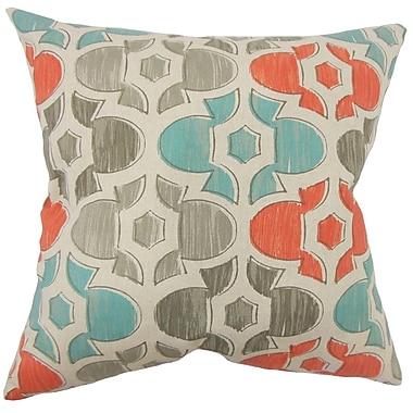 The Pillow Collection Zane Geometric Cotton Throw Pillow; 20'' H x 20'' W x 5'' D