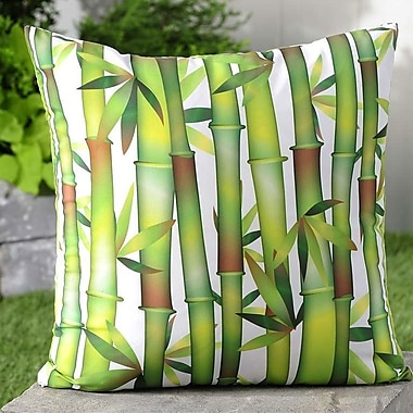 Giftcraft Bamboo Shoots Throw Pillow