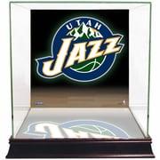 Steiner Sports Logo Background Case; Utah Jazz