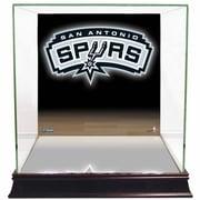 Steiner Sports Logo Background Case; San Antonio Spurs