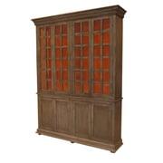 MOTI Furniture Belleview 8 Door Storage Cabinet; Warm