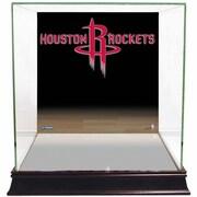 Steiner Sports Logo Background Case; Houston Rockets