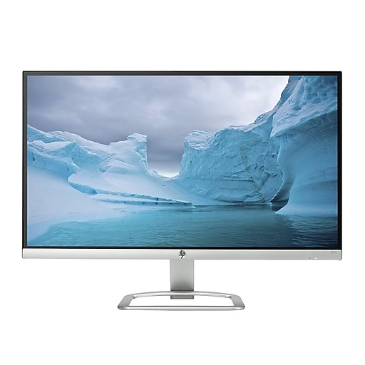 hp 25er 25 led backlight lcd computer monitor white staples