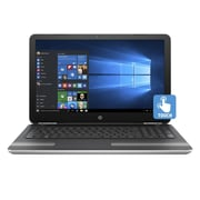 "HP® Pavilion 15-au030nr 15.6"" Notebook, LCD Touchscreen, Intel i7-6500U, 1TB HDD, 12GB RAM, Windows 10, Gold/Silver"