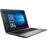 "HP® 15-ba083nr 15.6"" Notebook, LCD Touchscreen, AMD A8-7410 APU, 1TB HDD, 4GB RAM, Windows 10, Turbo Silver"